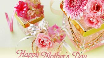 Happy mothers day flowers wallpaper