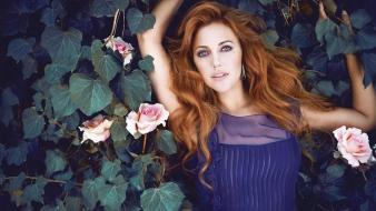Instyle magazine meryem sahra uzerli turkish actress brunettes wallpaper