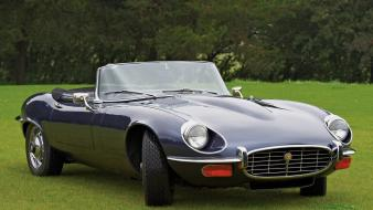 Jaguar e-type v12 open two seater uk-spec cars wallpaper