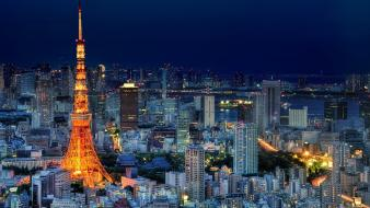 Japan tokyo cities cityscapes wallpaper