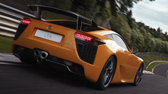 Lexus lfa nürburgring cars roads vehicles wallpaper