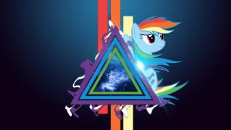 Magic mlp my little pony rainbow dash wallpaper