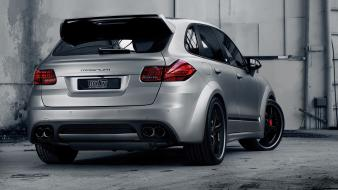 Magnum porsche cayenne techart cars static wallpaper