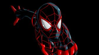 Marvel comics miles morales peter parker spider-man Wallpaper