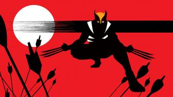Marvel comics wolverine x-men fan art wallpaper