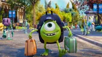 Mike wazowski monsters university movies wallpaper