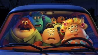 Monsters university animation cars film movies Wallpaper