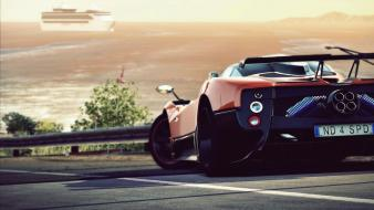 Need for speed rivals pagani zonda automobile cars wallpaper