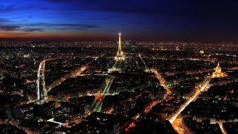 Paris night view Wallpaper