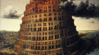 Pieter bruegel tower of babel paintings wallpaper