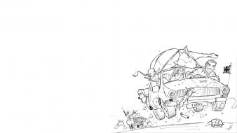 Road trip top gear jolly jack sketches wallpaper