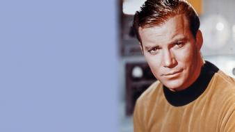 Star trek william shatner actors brown eyes wallpaper
