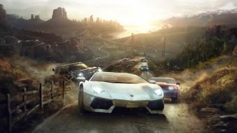 The crew (game) cars video games wallpaper