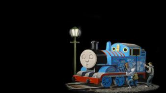 Thomas the tank engine sleeping Wallpaper