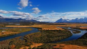 Torres del paine unesco world heritage site wallpaper