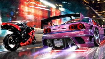 3d midnight club artwork video games Wallpaper