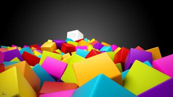 Abstract 3d colorful wallpaper