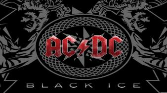 Acdc rock music album covers black wallpaper