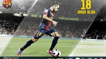 Alba fc barcelona jordi football teams sports wallpaper