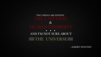 Albert einstein citation infinity phrase quotes wallpaper