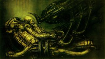 Alien aliens movie space jockey outer spaceships wallpaper