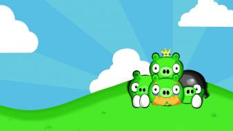 Angry birds pigs wallpaper