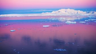 Antarctica pastel Wallpaper