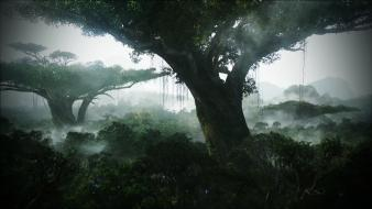 Avatar artwork forests jungle nature wallpaper