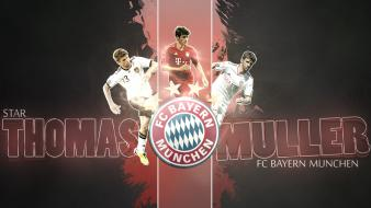 Bayern munchen bundesliga thomas müller munich wallpaper