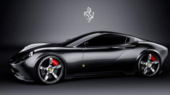 Black ferrari 458 italia wallpaper