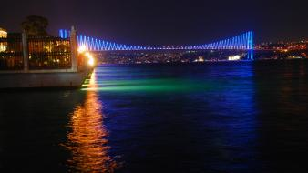 Bosphorus bridge istanbul turkey bridges wallpaper