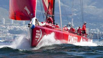 Cape town the volvo ocean race port wallpaper