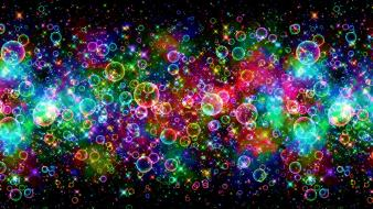 Colorful bubbles background wallpaper