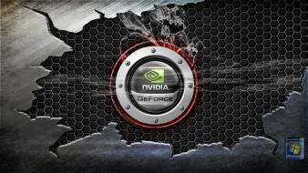 Cool nvidia logo wallpaper