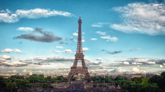 Eiffel tower france paris architecture cityscapes wallpaper