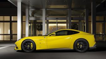 Ferrari novitec rosso cars static yellow wallpaper