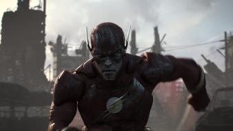 Flash (superhero) injustice: gods among us artwork cinematic wallpaper