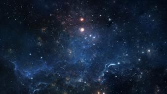 Galaxies outer space wallpaper