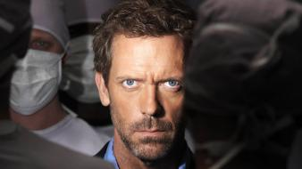 House md hugh laurie doctors wallpaper