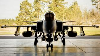 Jas 39 gripen saab aircraft wallpaper