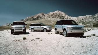 Land rover discovery 3 range vogue sport wallpaper