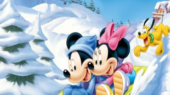 Mickey and minnie mouse wallpaper