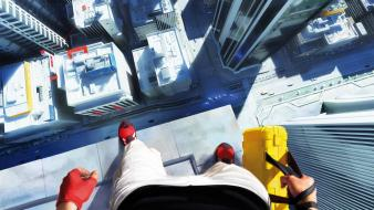 Mirrors edge cities faith fps game Wallpaper