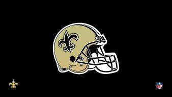 Nfl new orleans saints black gold helmet wallpaper