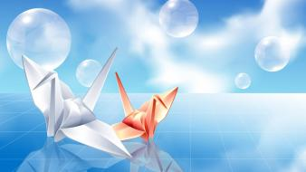 Origami 3d animation wallpaper