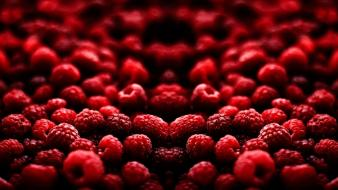 Red fruits background wallpaper