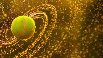 Tennis ball photography wallpaper