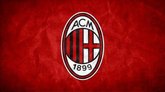 Ac milan logo wallpaper