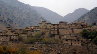 Afghanistan travel villages Wallpaper