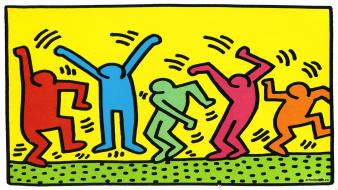 Album covers artwork graffiti art keith haring paintings wallpaper